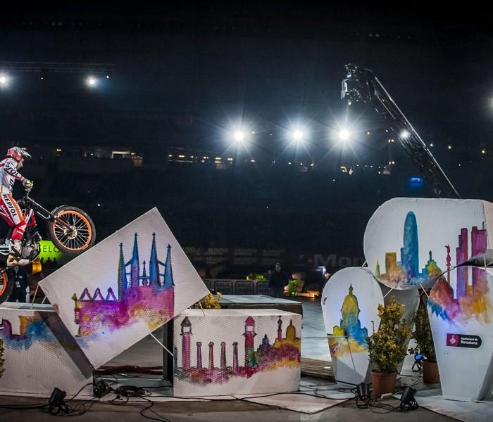 Gran victoria de Toni Bou en el Trial Indoor de Barcelona