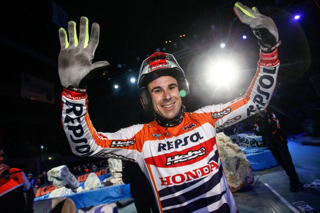 Toni Bou Trial Indoor 2016