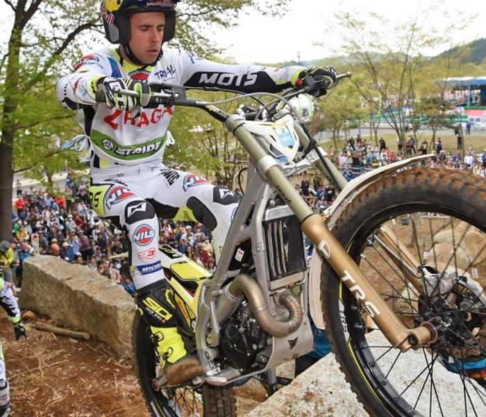 Adam Raga manda en casa de Honda | GP Japon de Trial día 1