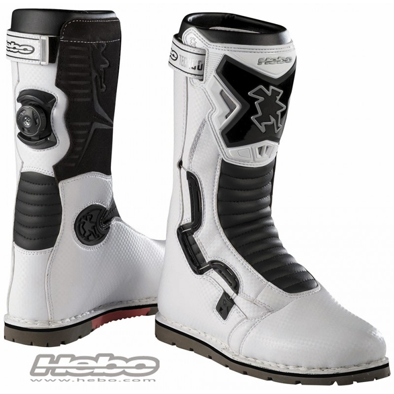 botas hebo tech comp boa blanco