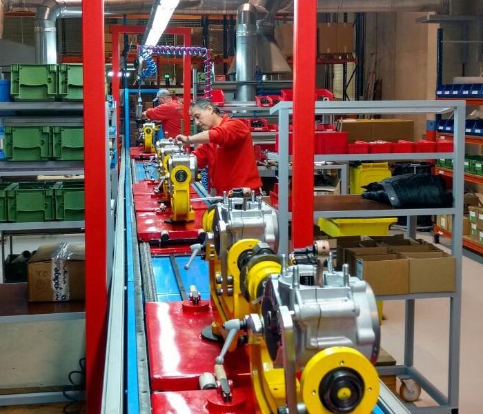 Gas Gas pone en marcha su producción con el primer motor de trial