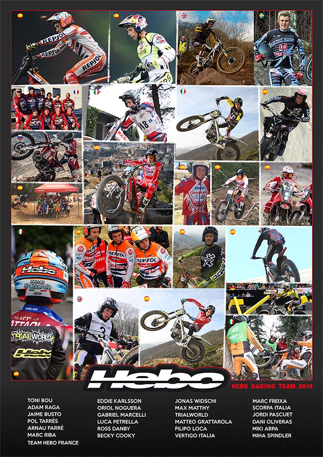 HEBO RACING TEAM 2016