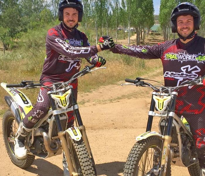 Trialworld School recibe el apoyo de TRS Motorcycles y Difrenos
