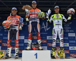 podium trial francia 2016