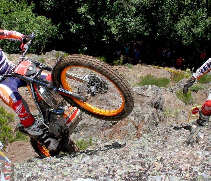 Previo Campeonato España de Trial en Mancor de la Vall (Mallorca)