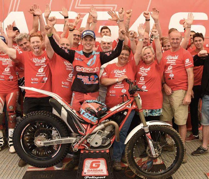 Jack Price Campeón del Mundo de Trial2 con Gas Gas