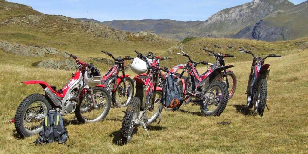motos de trial montaña