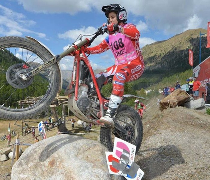 Sandra Gómez subcampeona del mundo de trial femenino 2016