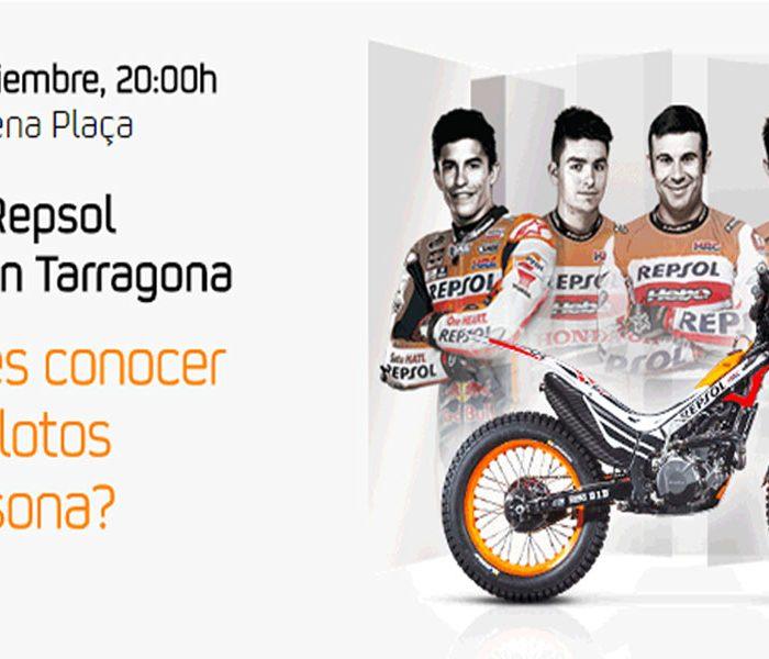 El equipo Repsol Honda prepara un gran evento en Tarragona