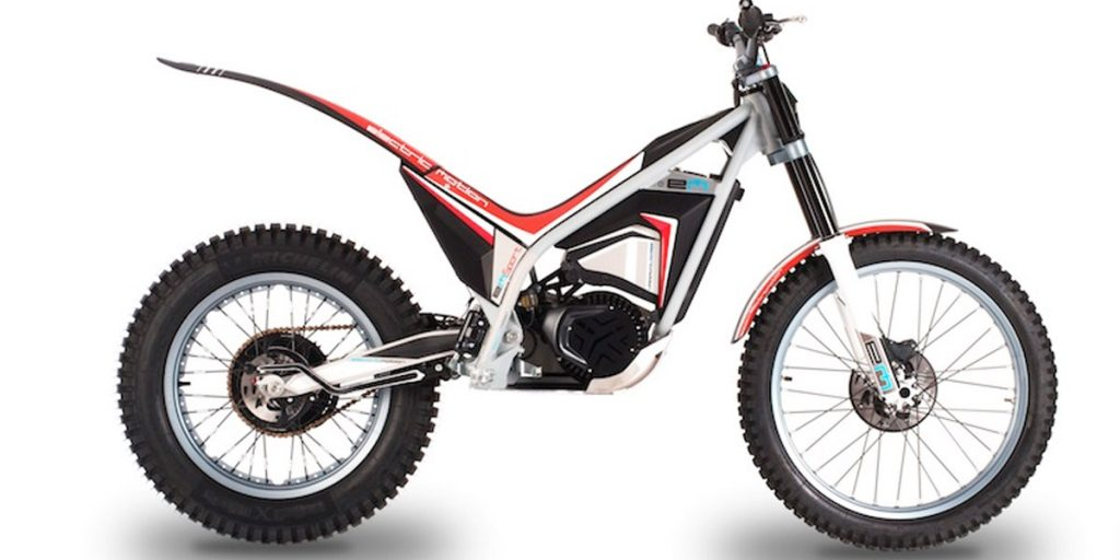 electric motion sport trial electrico