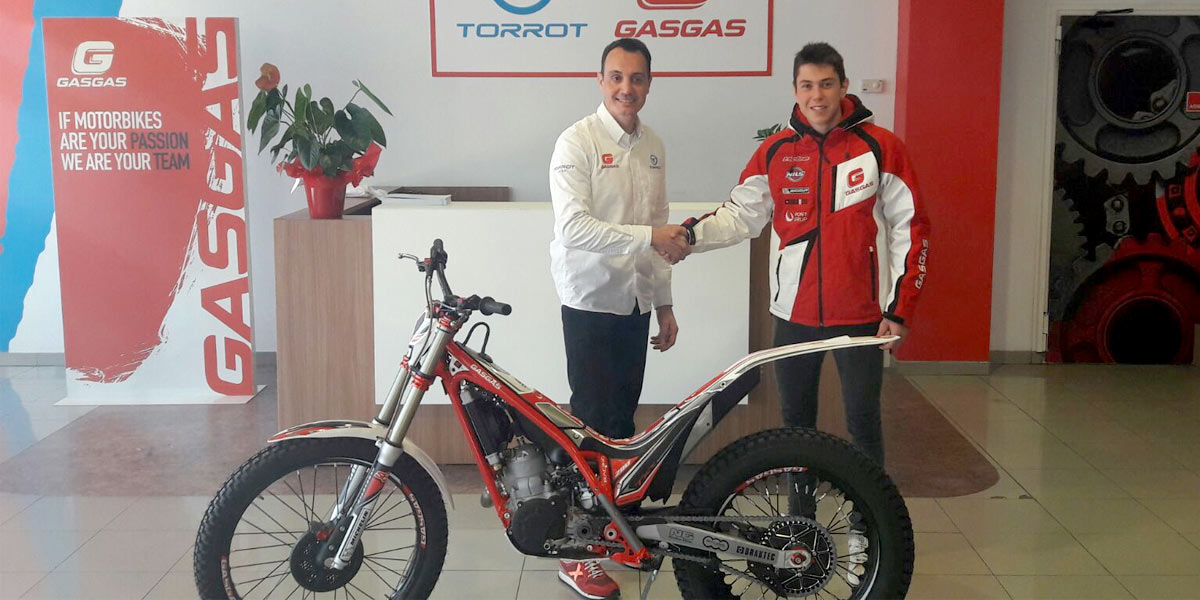Arnau Farre Trial Gas Gas 2017