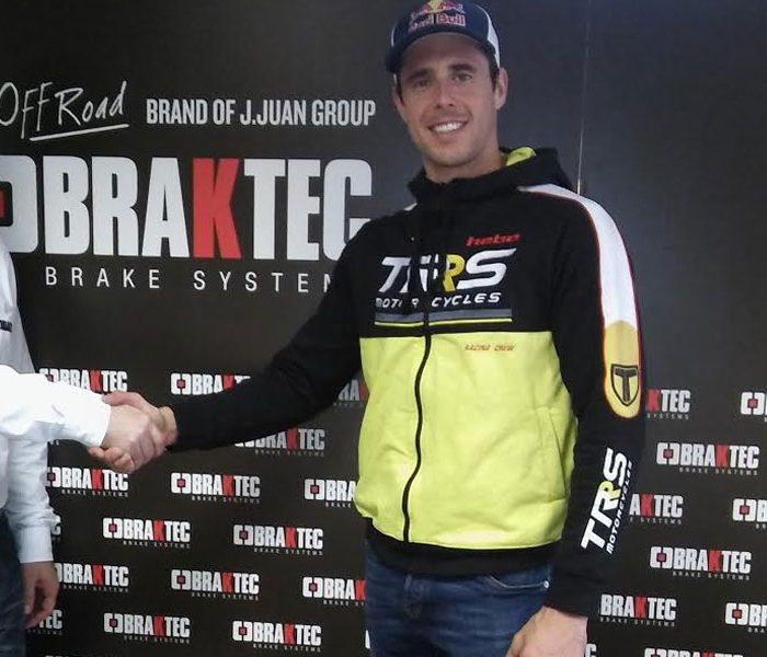 Adam Raga y Braktec amplían su colaboración