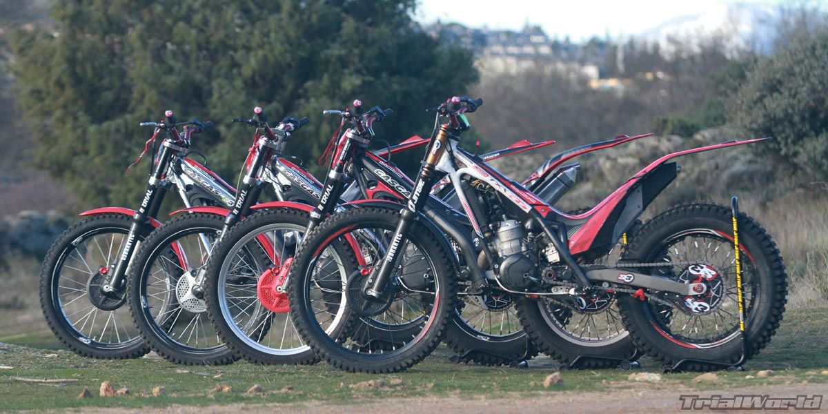 alquilar motos de trial en madrid