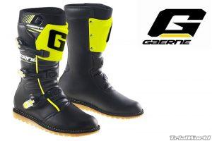 botas gaerne de trial classic amarillo