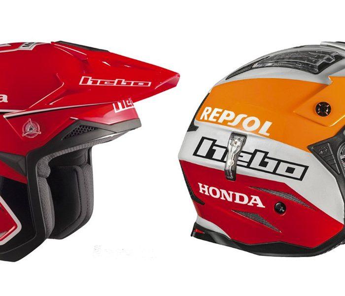 Cascos Hebo de Trial colección Montesa Classic y Montesa Team