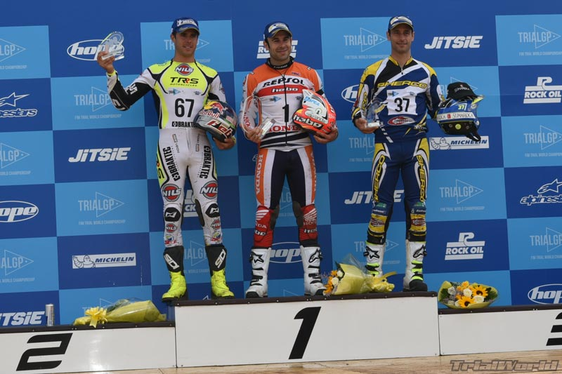podium gp japon trialgp 2017