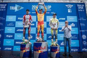 podium trial2 gp spain 2017