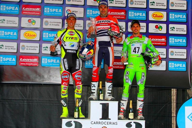 podium cet calahorra 2017