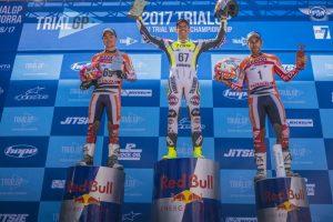podium trialgp andorragp 2017