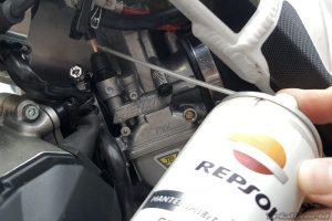 engrasar carburador moto de trial