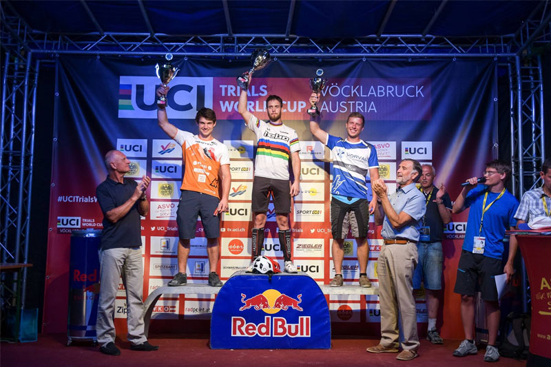 podium uci trials elite 20 vocklabruck
