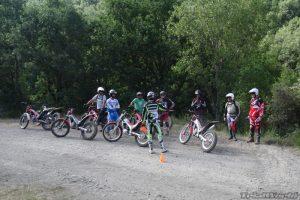 Aprender Trial en moto