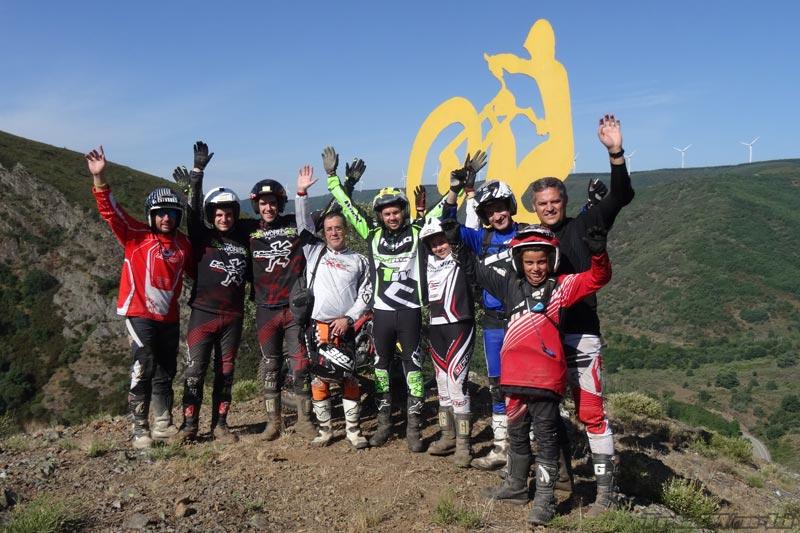 Excursión Moto de Trial Leon