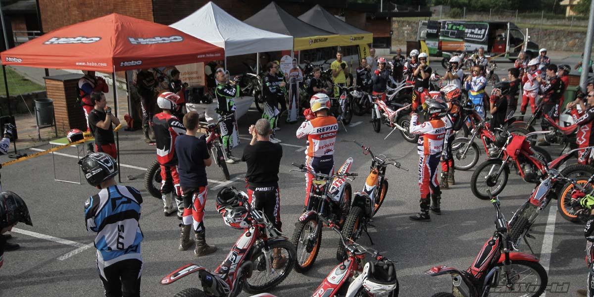 curso iniciación moto de trial