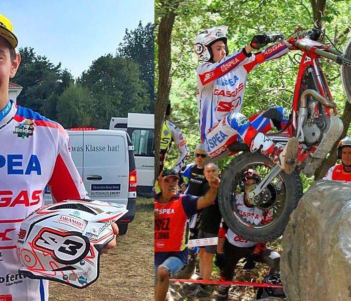 Arnau Farre Campeón de Europa de Trial 2017