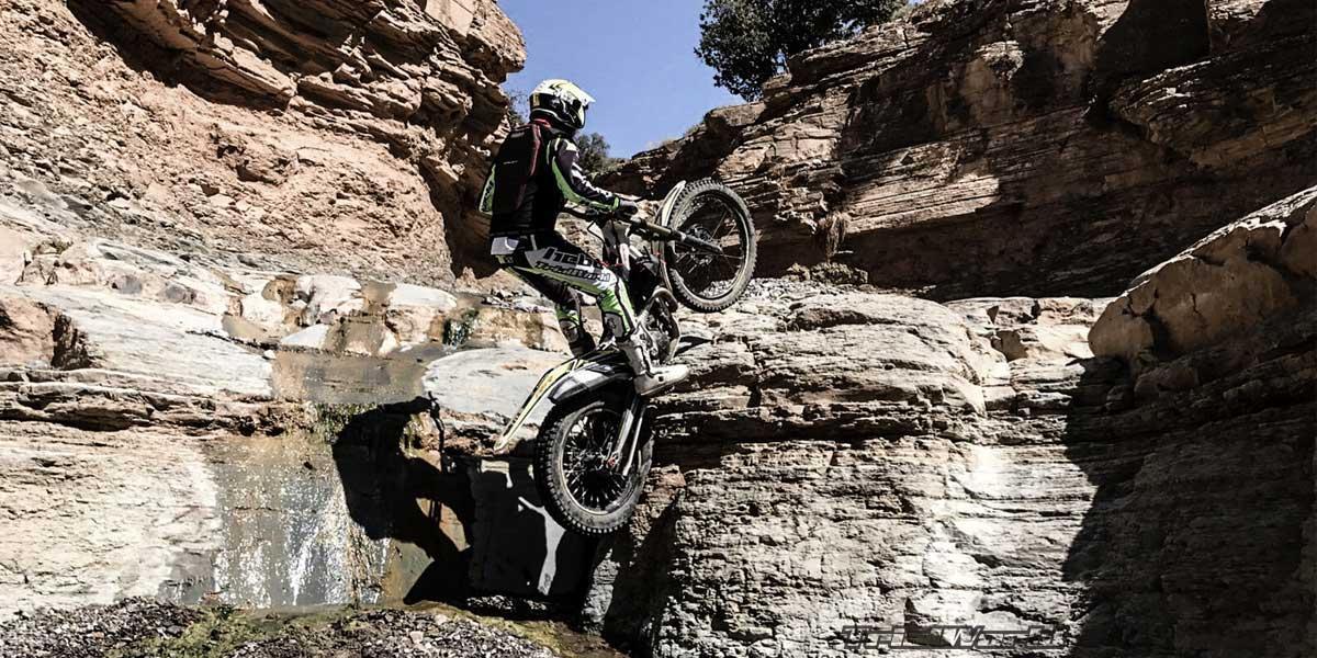 moto de trial marruecos