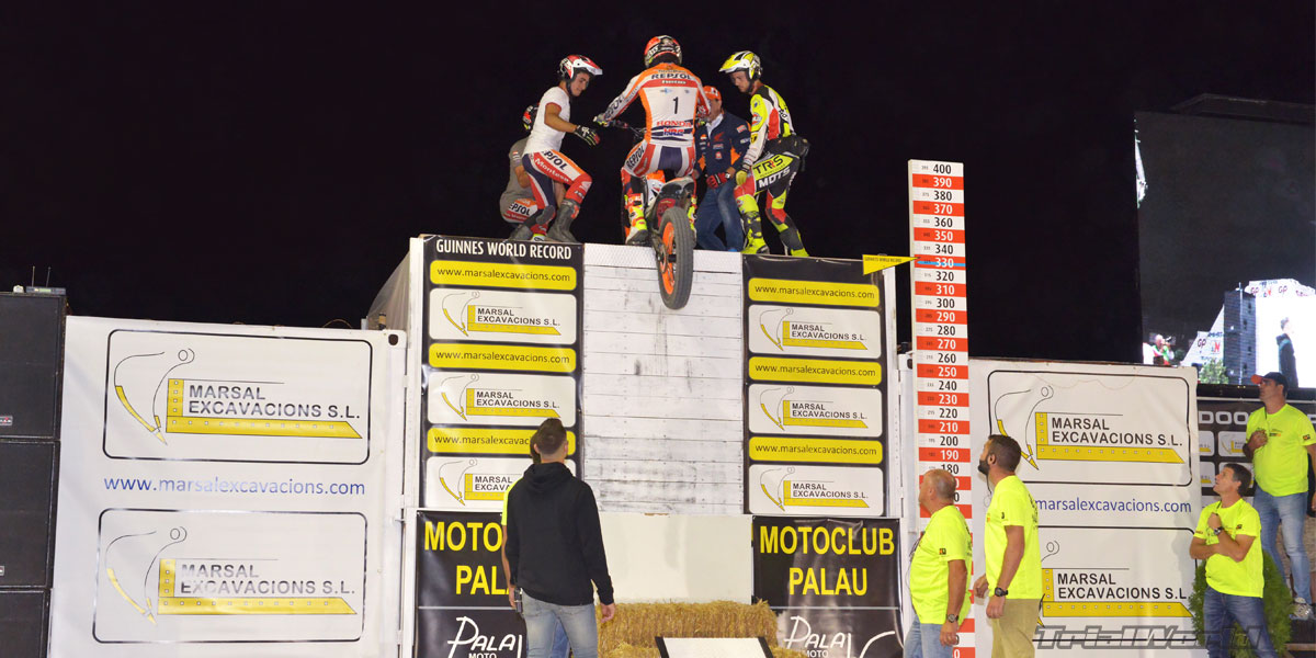 toni bou record guiness trial