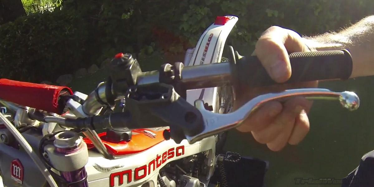 purgar embrague moto de trial