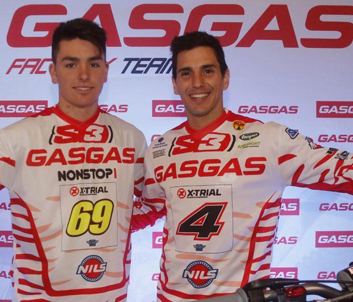 Gas Gas presenta a Jaime Busto y Jeroni Fajardo como pilotos