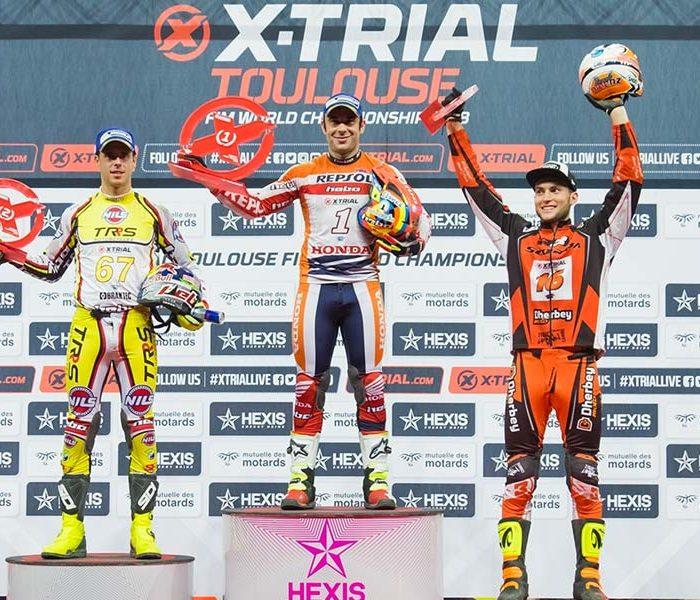Triunfo para Toni Bou en Toulouse y podium 100 para Adam Raga