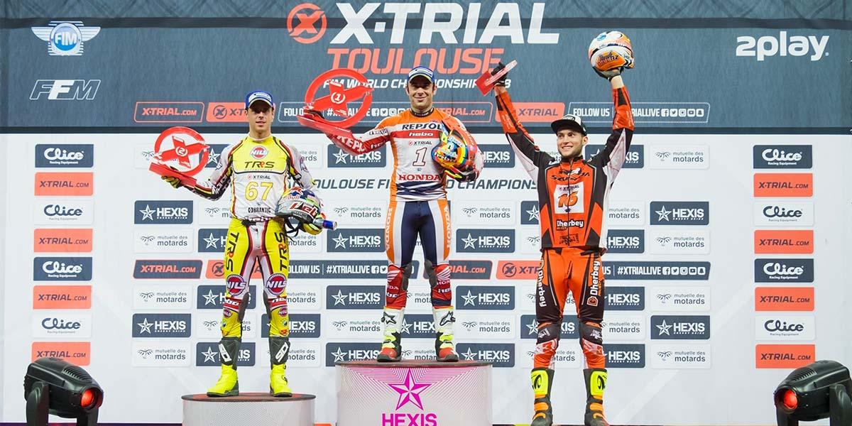 podium xtrial toulouse