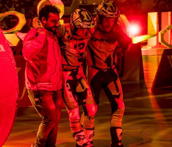 Arnau Farre se lesiona en el XTrial de Barcelona