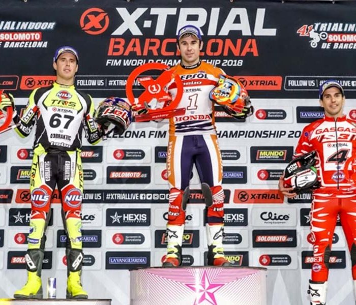 Quinta victoria consecutiva para Toni Bou | X-Trial Barcelona