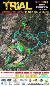 recorrido campeonato españa trial la nucia 2018