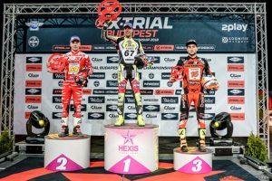 podium xtrial budapest 2018