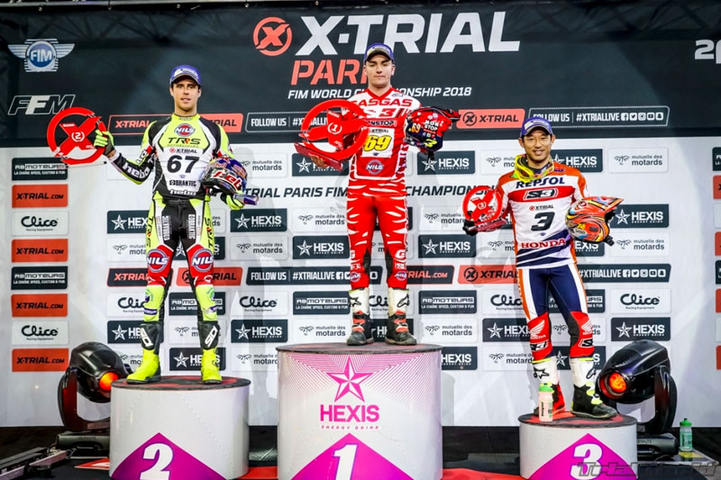 podium x-trial paris 2018