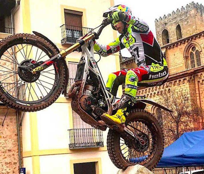 Adam Raga domina el CET de Sigüenza