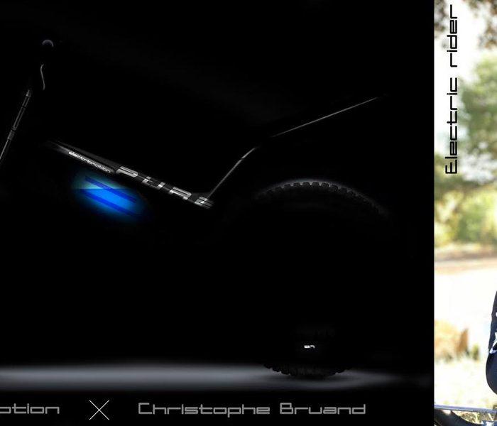 El prototipo Eletric Motion EPure debutará en TrialE con Bruand