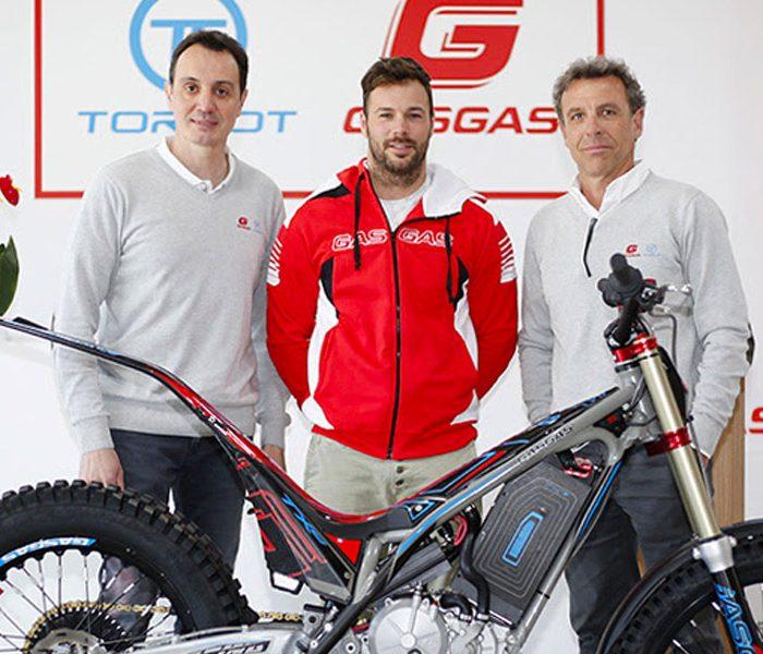 Loris Gubian pilotará la Gas Gas TXE en el Mundial de TrialE