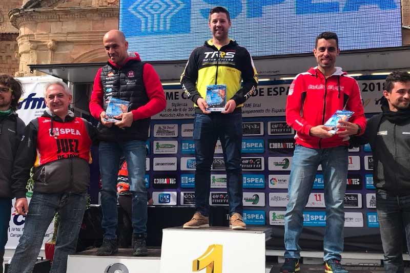 podium tr3 cet trial siguenza 2018