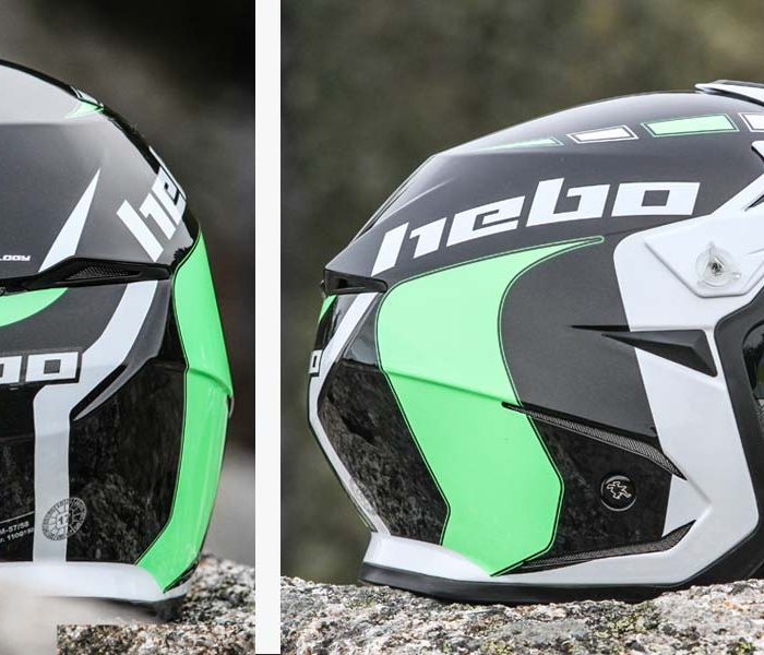 Casco Hebo Zone 5 con pantalla y luces leds | Quick Test