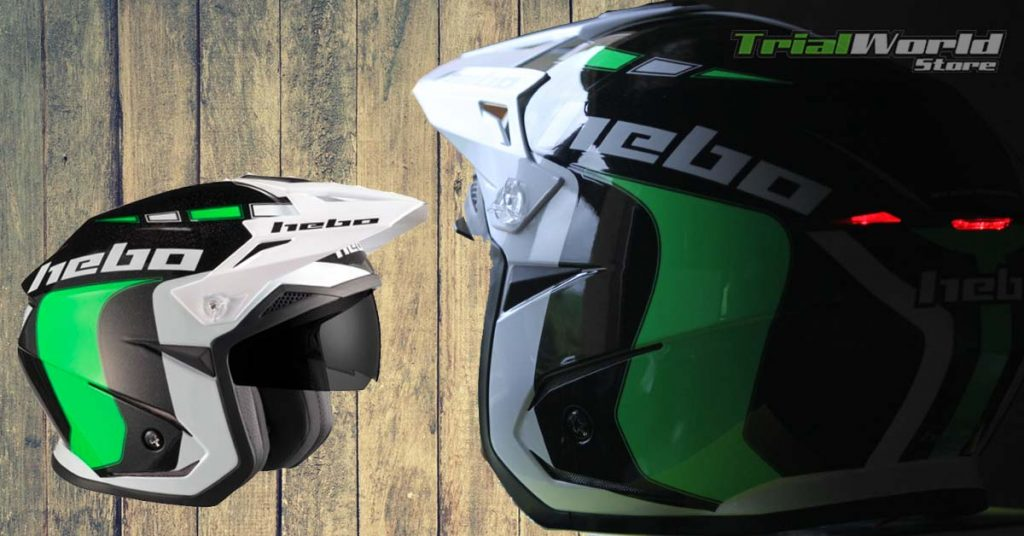 casco Hebo Zone 5 Like Verde