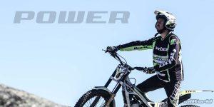 entrenamiento potencia moto trial