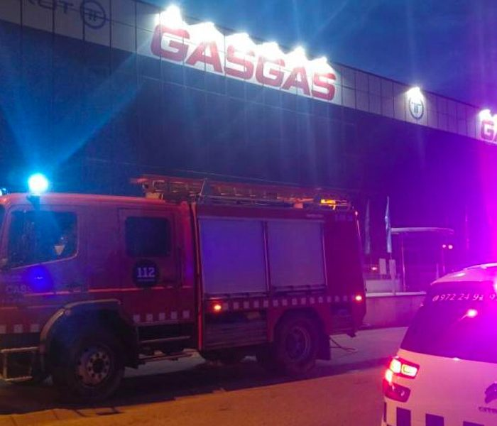 Un incendio quema la fábrica de Gas Gas y Torrot