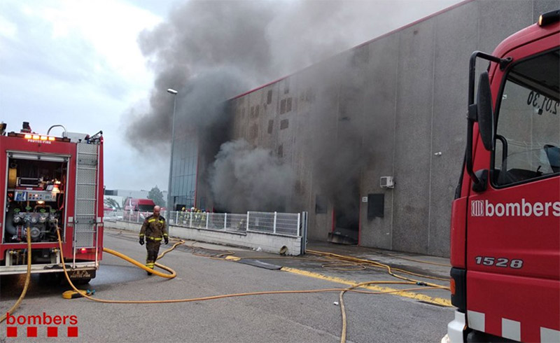 incendio gas gas torrot fabrica