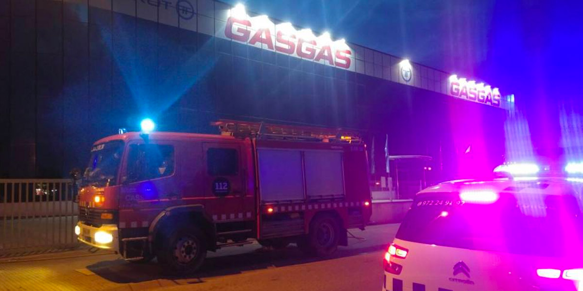 Incendio Gas Gas Torrot